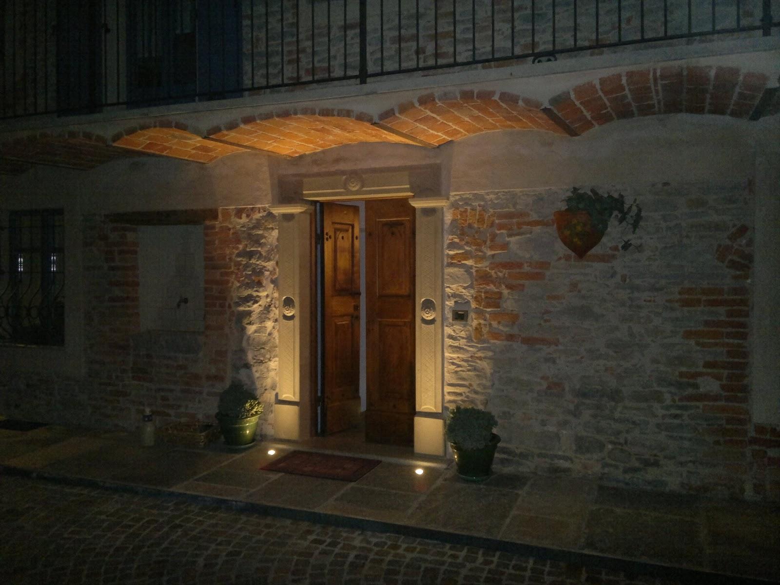 Illuminazione Led casa Dogliani  Ristrutturazione Cascinale
