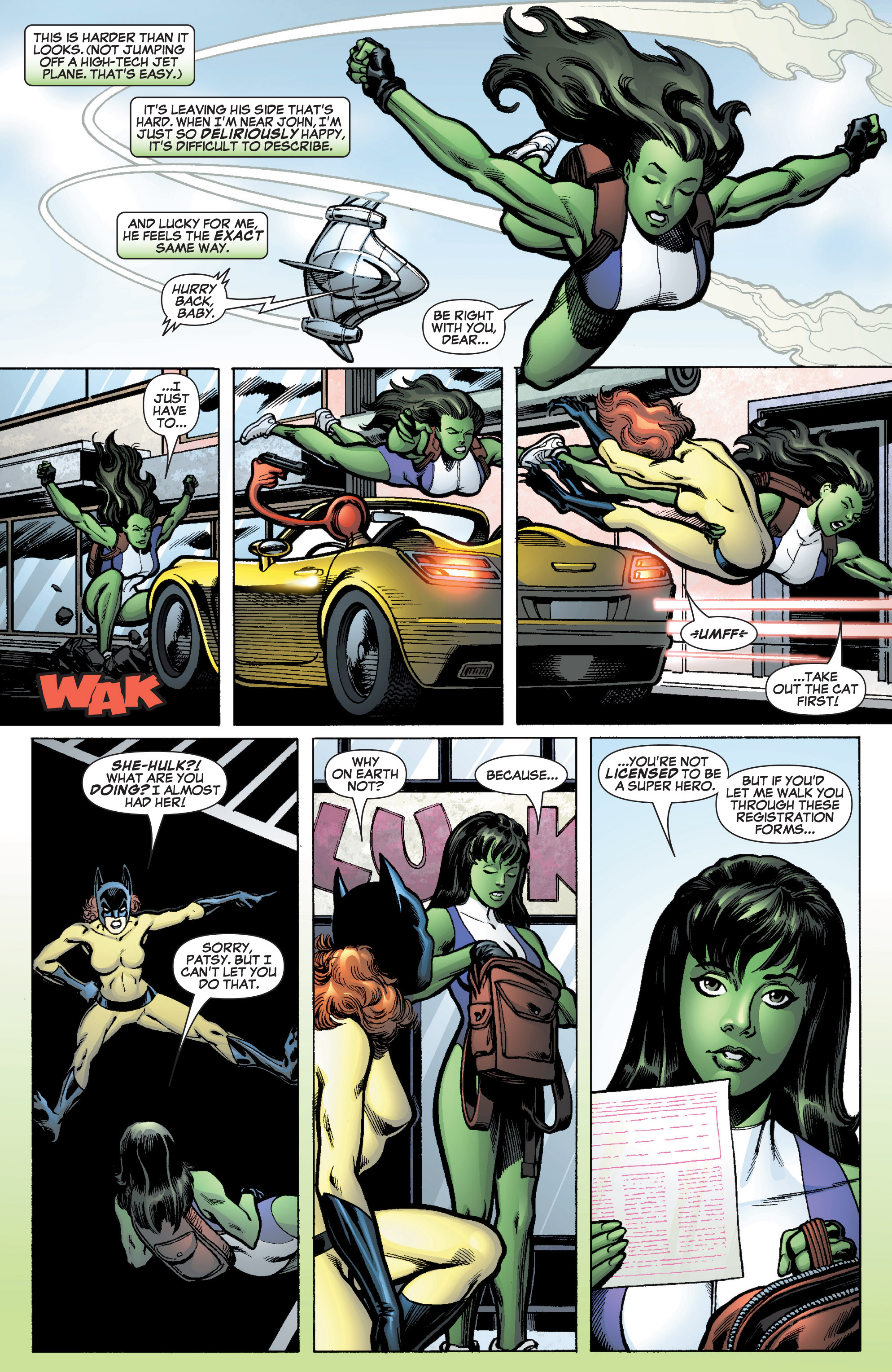 Read online She-Hulk (2005) comic -  Issue #10 - 3