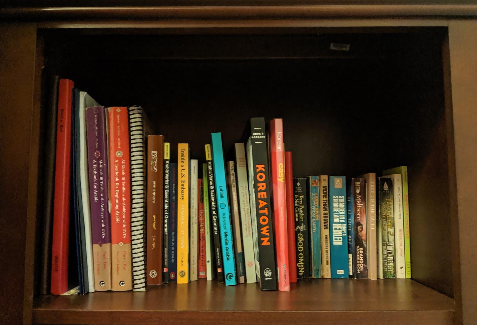 N&M: Doing KonMari Step 2: Books on Easy Mode