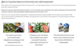 Основные принципы лечебного питания при раке