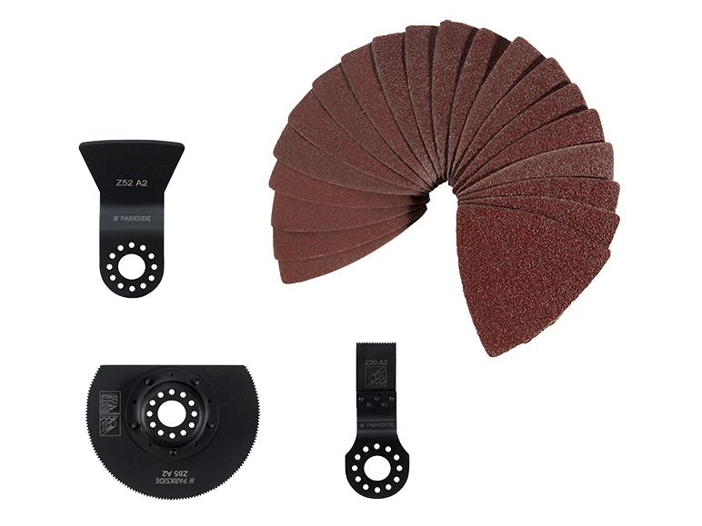 accessoires pour outil multifonction lidl avis sur les produits. Black Bedroom Furniture Sets. Home Design Ideas