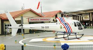 Helipad Lagos Emergency medical