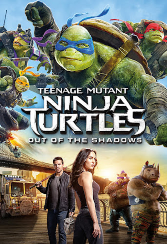 Teenage Mutant Ninja Turtles: Out of the Shadows (BRRip 1080p Dual Latino / Ingles) (2016)