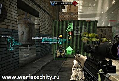 Мультичит AIM - WH на Warface