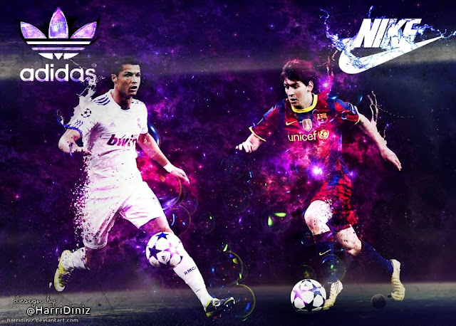 Ronaldo Messi Desktop Wallpapers