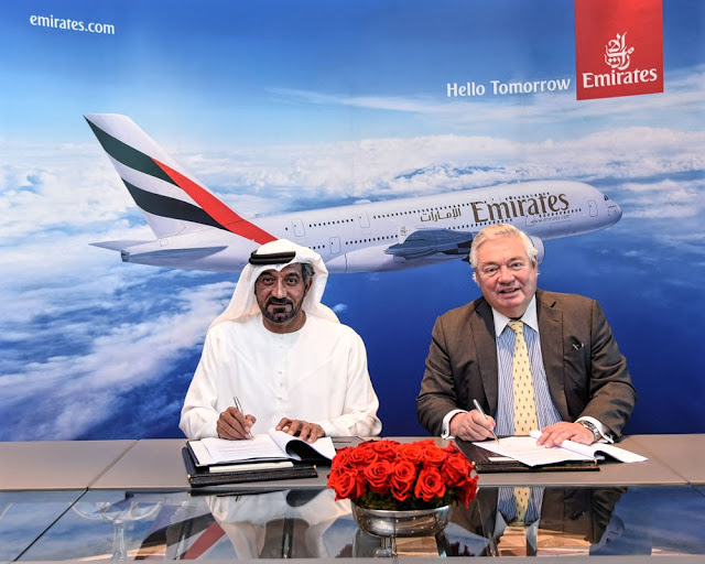 emirates and airbus mou signing