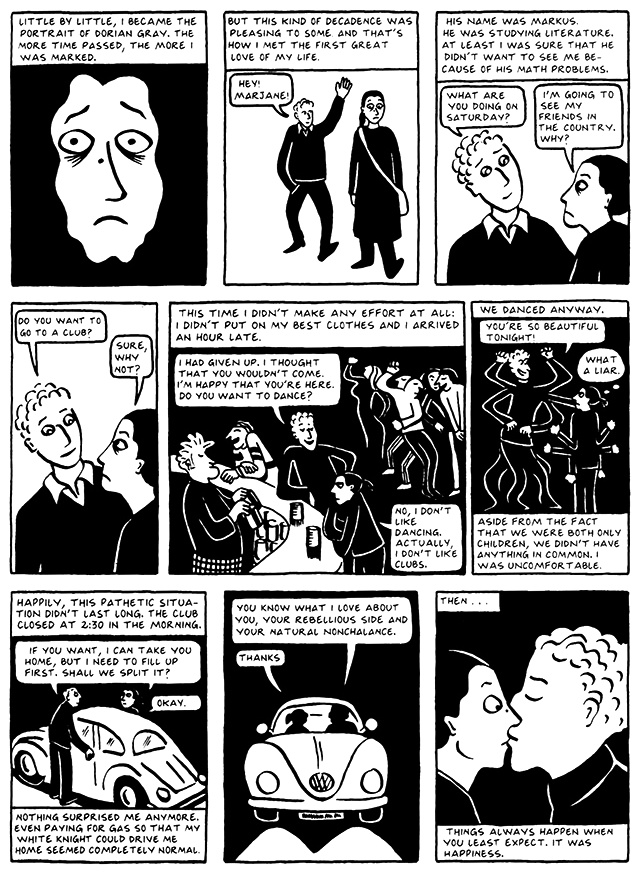 Read Chapter 7 - Hide and Seek, page 65, from Marjane Satrapi's Persepolis 2 - The Story of a Return