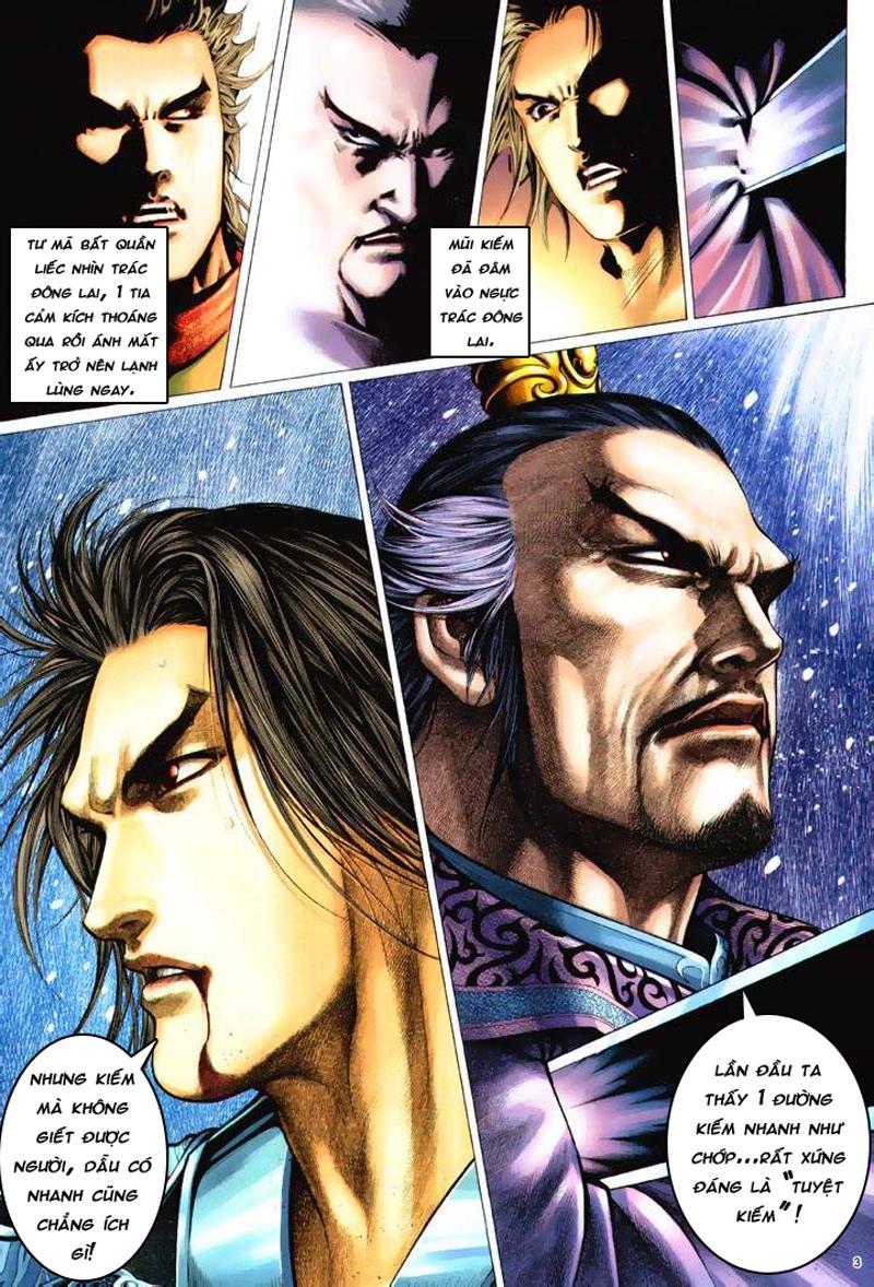 Anh hùng vô lệ Chap 6: Anh hùng hữu lệ trang 3