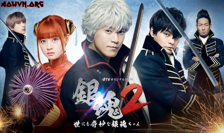 10021776 sns - [ Live Action 3gp Mp4 | Ep 2 ] Gintama 2: Yonimo Kimyona Gintama-chan | Vietsub - Siêu phẩm trở lại - Bẩn bựa hơn xưa!!!