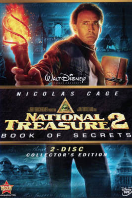 Poster of National Treasure Book of Secrets 2007 Dual Audio 720p BluRay
