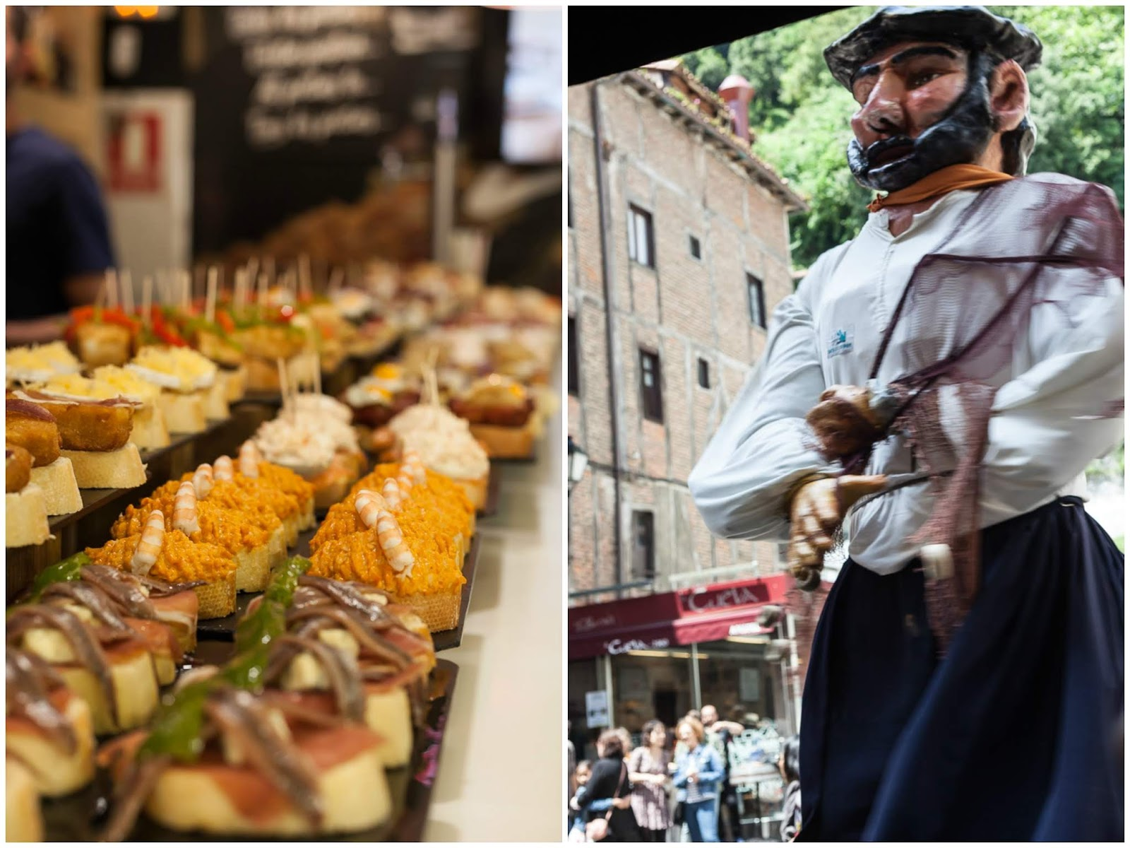 pinchos of basque country