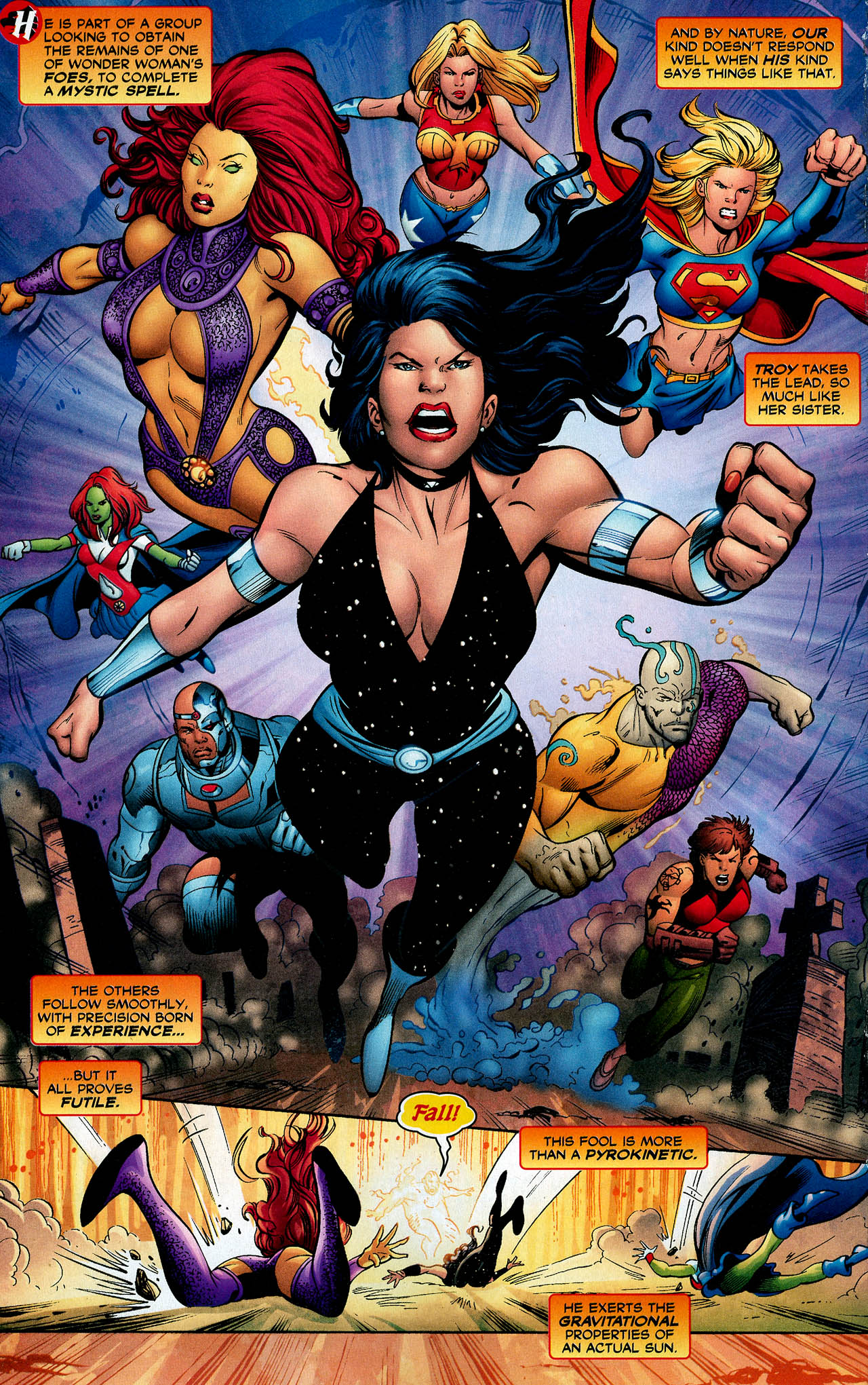 Read online Trinity (2008) comic -  Issue #14 - 19