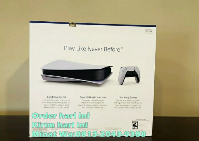 JUAL PLAYSTATION 5 BLACK MARKET ORIGINAL