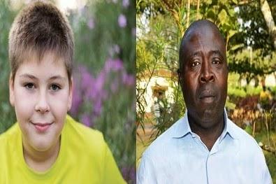 white kid nigerian man toy slave