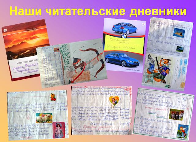 дневник чтеца образец - фото 6