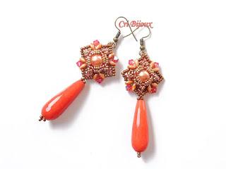 gioiello corallo bronzo perle e giada