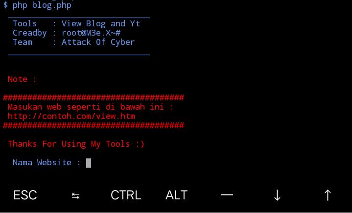 Install Visitor di termux - Attack Of Cyber
