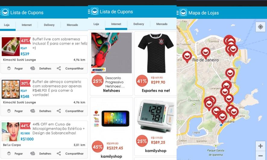 Cuponeira 6 Aplicativos que Te Ajudam a Poupar -- www.esperteza.com  -- #Dicas #DicasParaPoupar #Promoções #Cupões #Descontos #Ofertas #Aplicações #Aplicativos