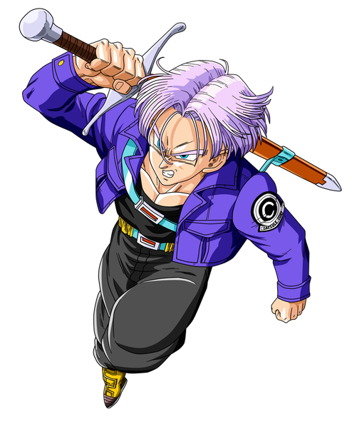 Dragon ball super karakter - kumpulan Foto Trunks dan Fakta tentan Trunks