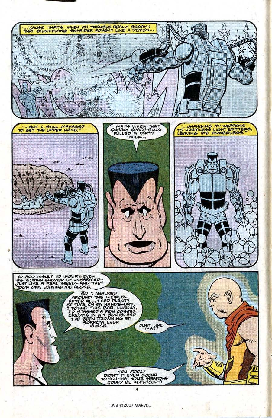 Read online Silver Surfer (1987) comic -  Issue #21 - 6