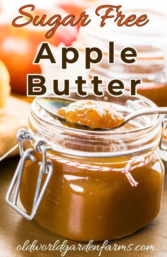 Crockpot Apple Butter – No Sugar Added