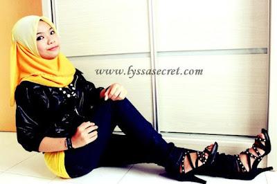 Bila si Blogger Cantik Lyssa Faizureen Masuk Blog