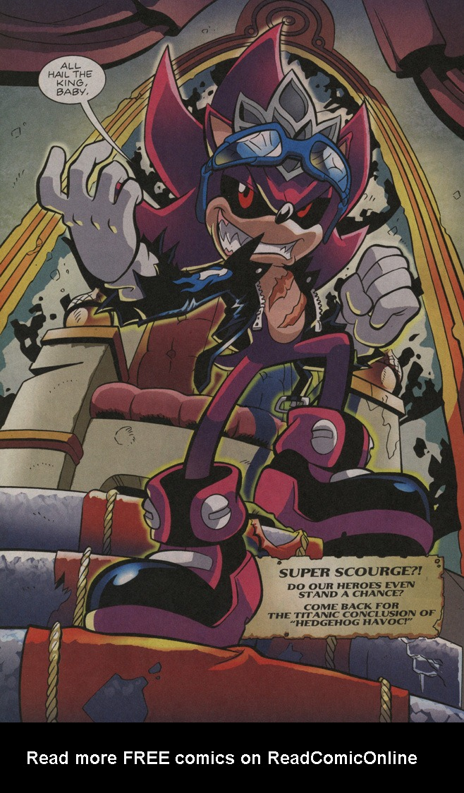 Read online Sonic The Hedgehog comic -  Issue #195 - 24