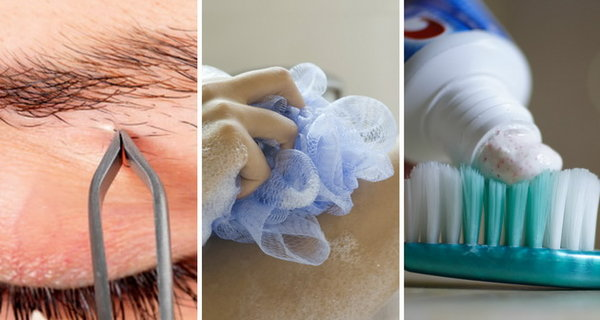 17 items and hygiene products you should never share with others