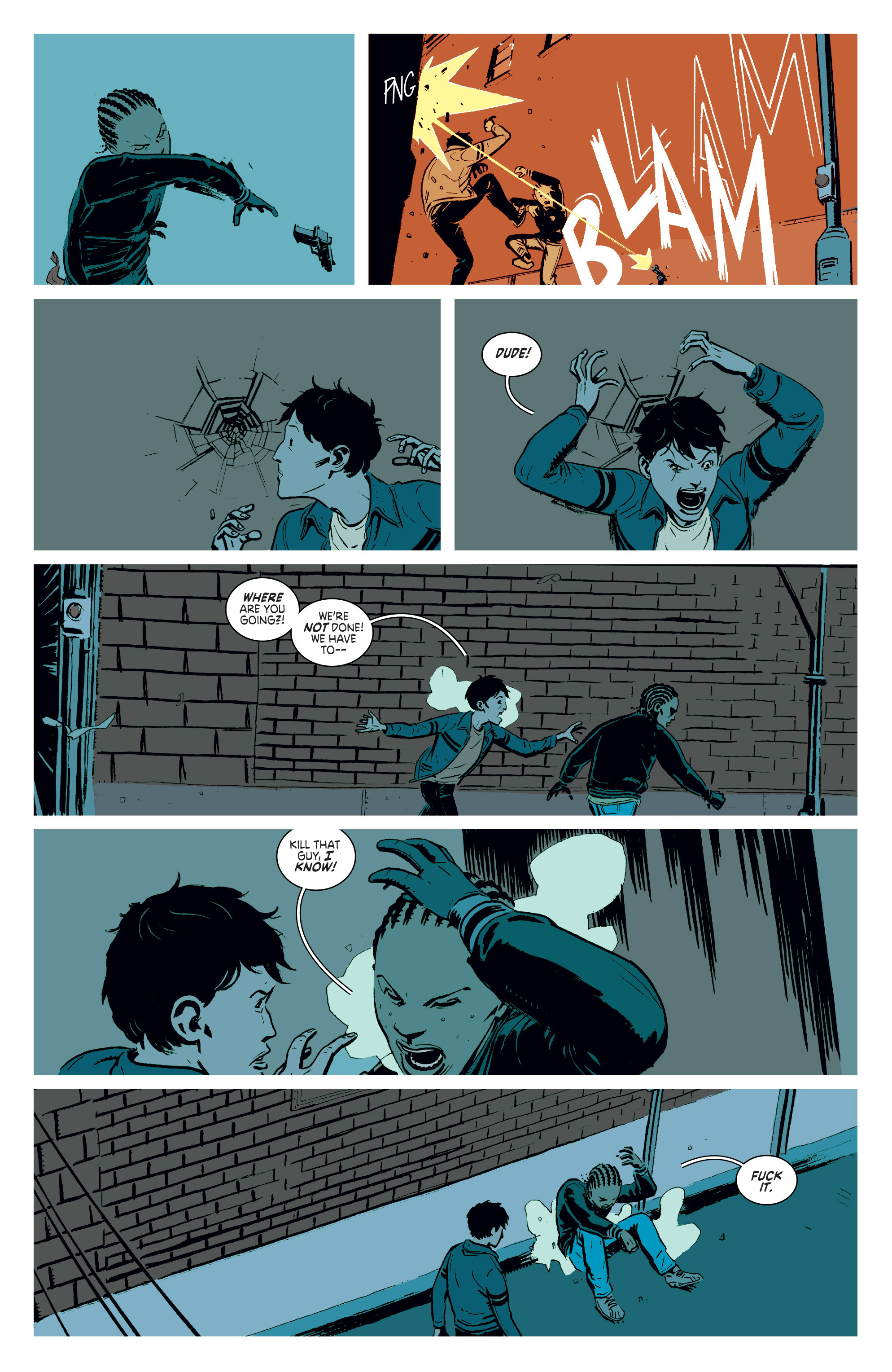 Read online Deadly Class comic -  Issue #3 - 16