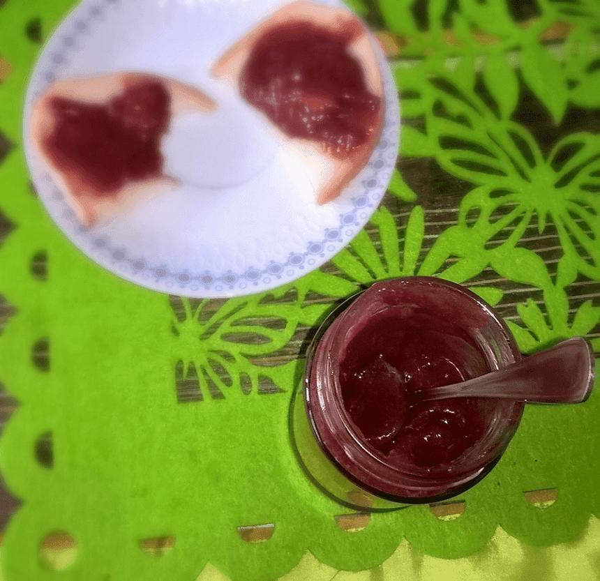 dżem truskawkowy rabarbarowy