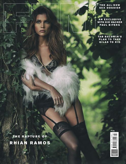 Rhian Ramos FHM July 2016 cover
