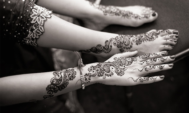 Beautiful, easy and simple bridal mehendi/mehandi designs: Lovely Mehndi designs for hands.