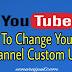 YouTube Channel का Custom URL कैसे Change करे ।