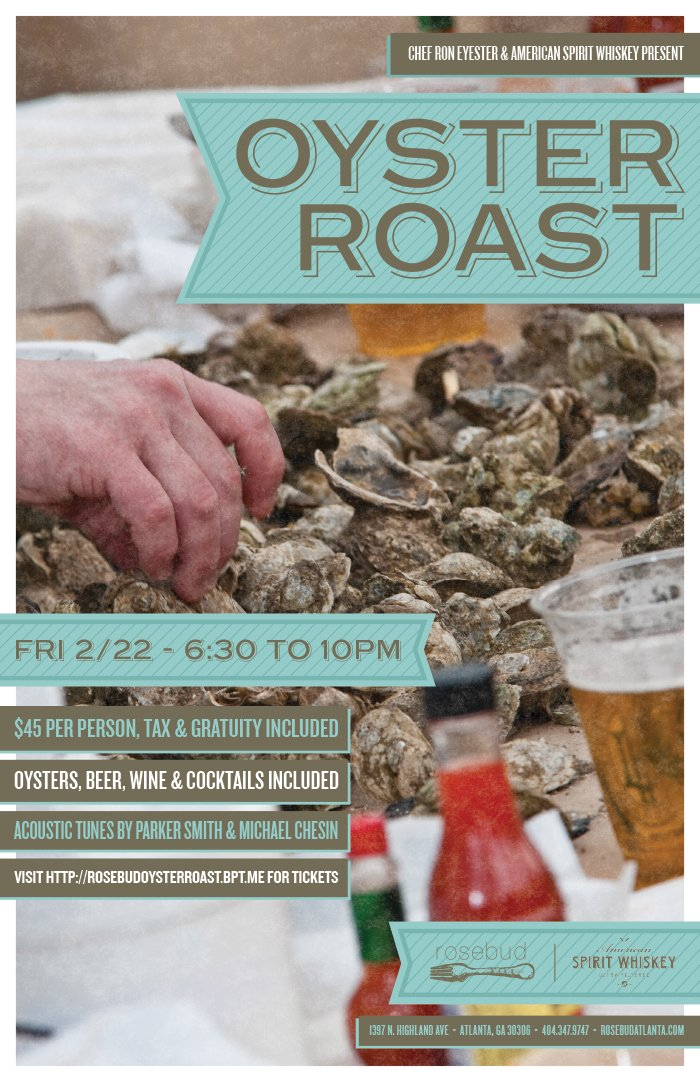 Everything Midtown Atlanta 4th Annual Oyster Roast At Rosebud