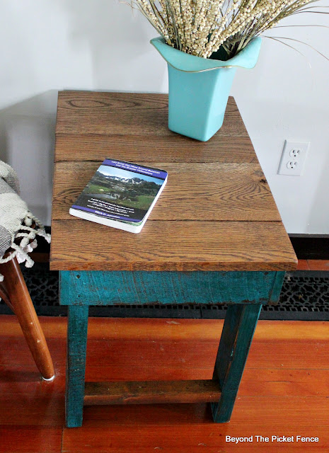 Make a Simple Side Table from Reclaimed Wood