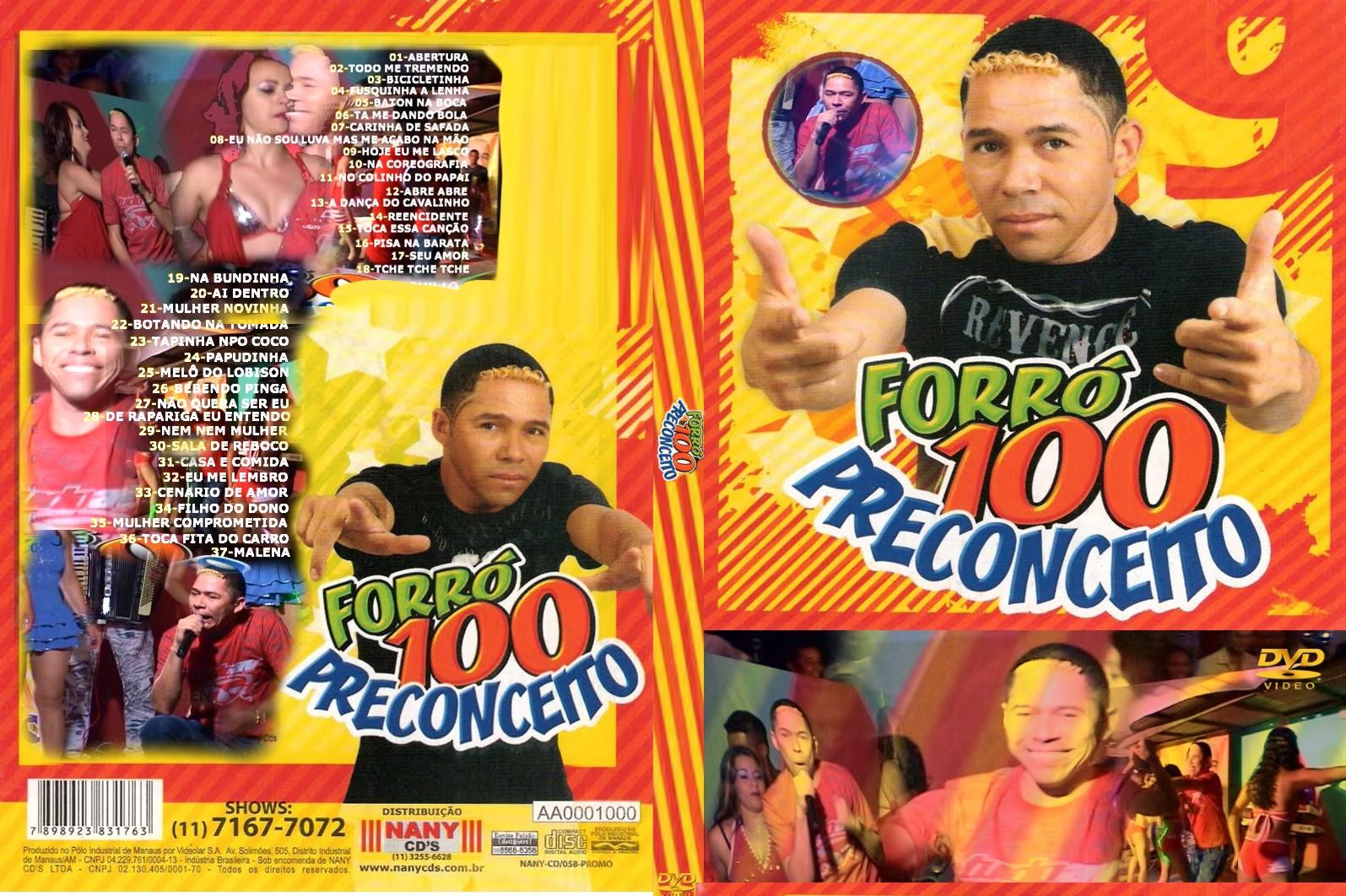 cd forro 100 preconceito 2011