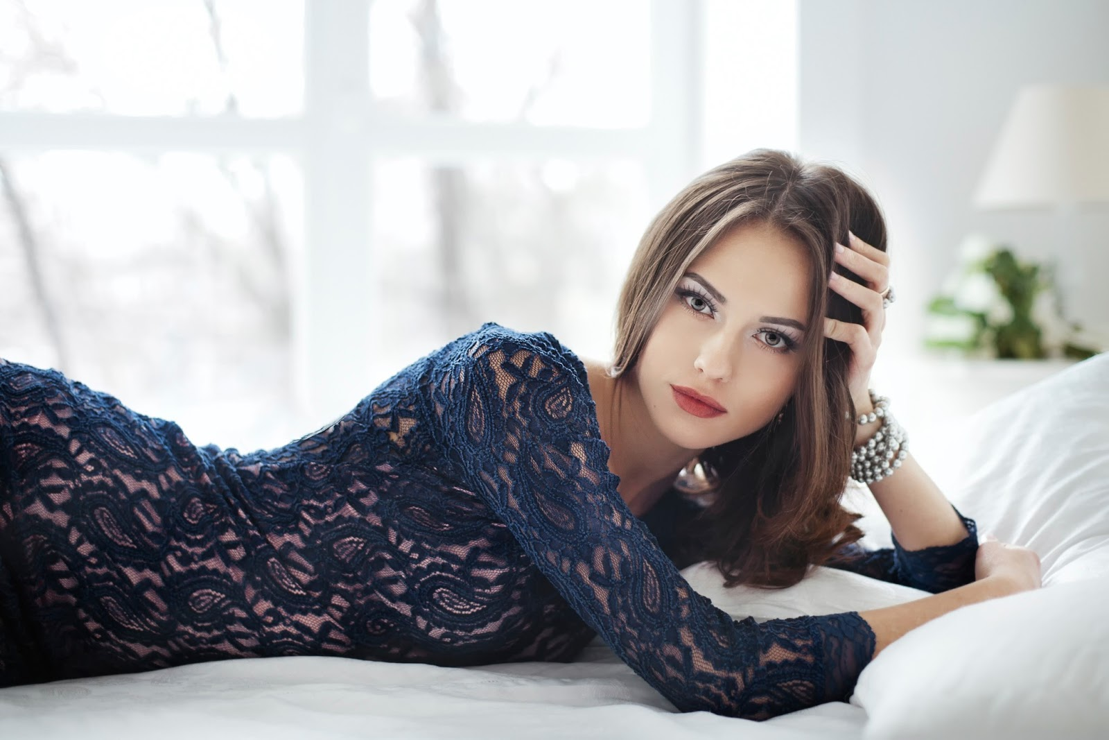 Beautiful Model Catherine Timokhina Wallpaper