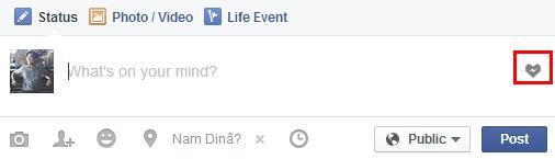 Tích hợp facemoji vào facebook trên trình duyệt