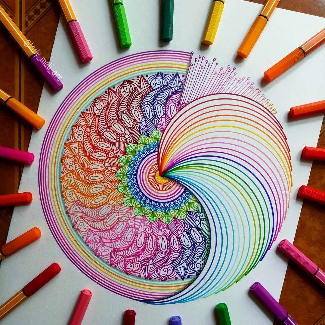 06-lady-meli-art-Colored-Pens-and-Geometric-Mandalas-Zentangles-Doodles-www-designstack-co