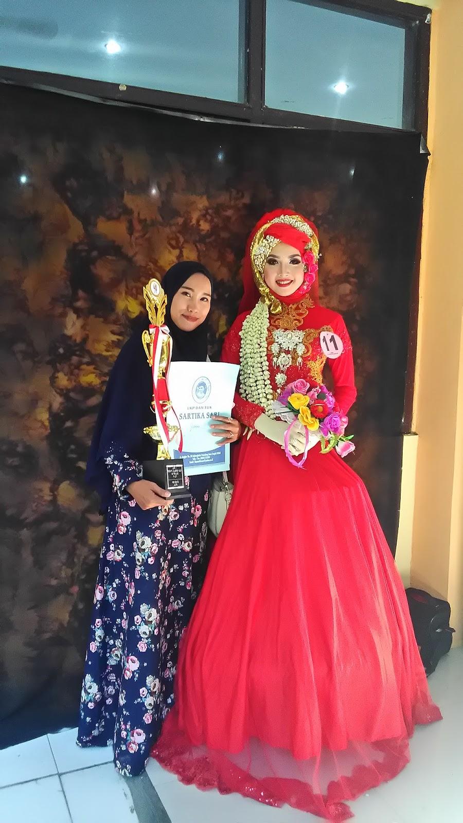 lomba rias pengantin bersama inez cosmetics