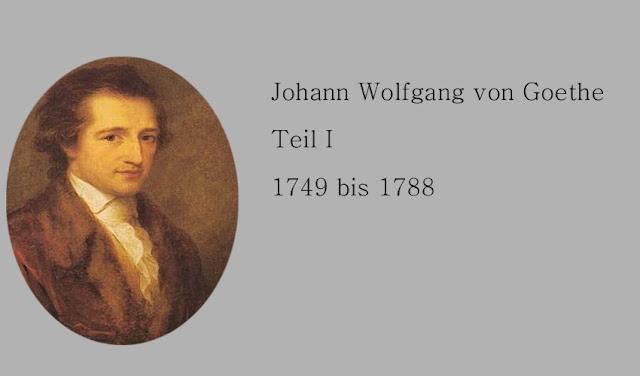 Der junge Goethe Biografisches