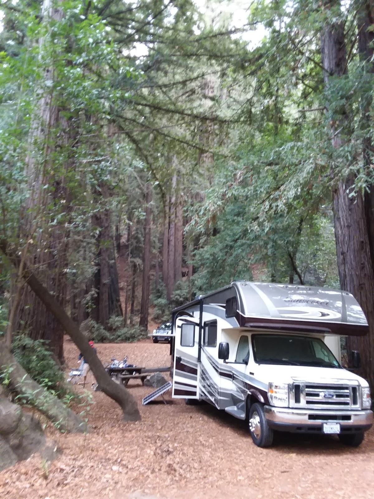 campgroundcrazy: pfeiffer big sur state park, big sur, california