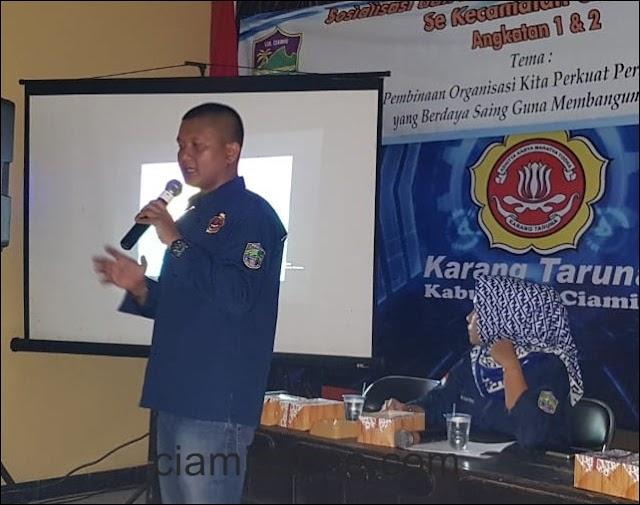 Karang Taruna Kecamatan Ciamis Siap Cetak Kader Handal