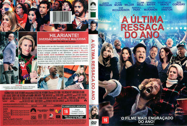 Capa DVD A Última Ressaca do Ano