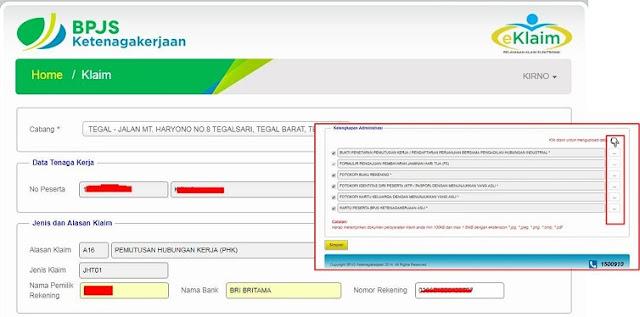 cara claim bpjs online