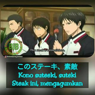 Kumpulan Dajare Dari Shun Izuki (Kuroko No Basket)