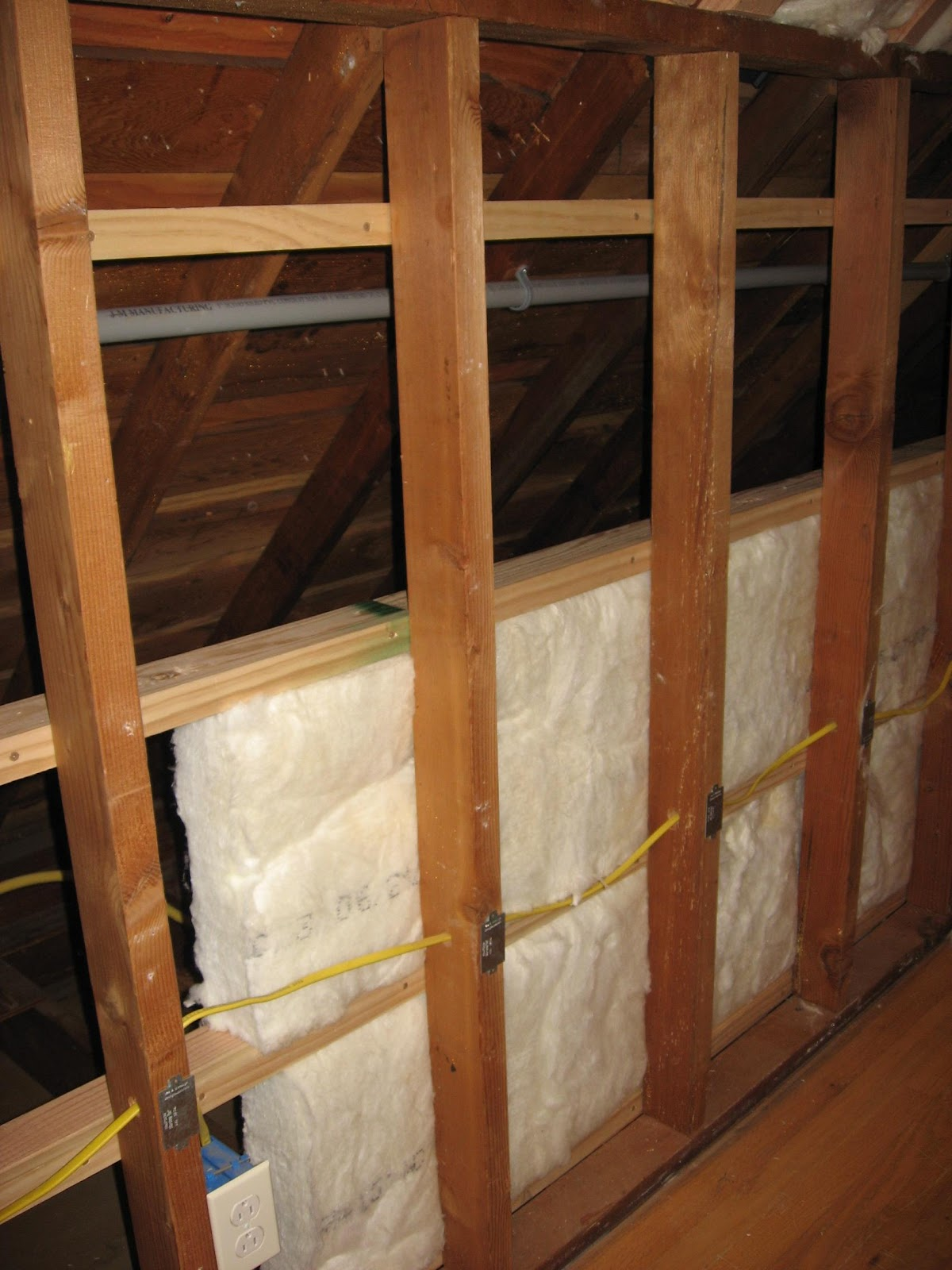 Energy Conservation How To Q Amp A Attic Walls