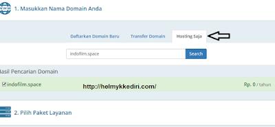 Cara menghubungkan domain kehosting2
