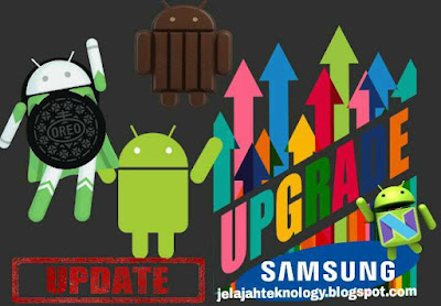 Upgrade os android samsung galaxy