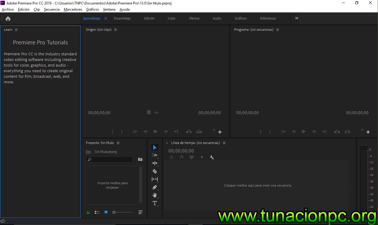 Adobe Premiere Pro CC 2019 Gratis Completo